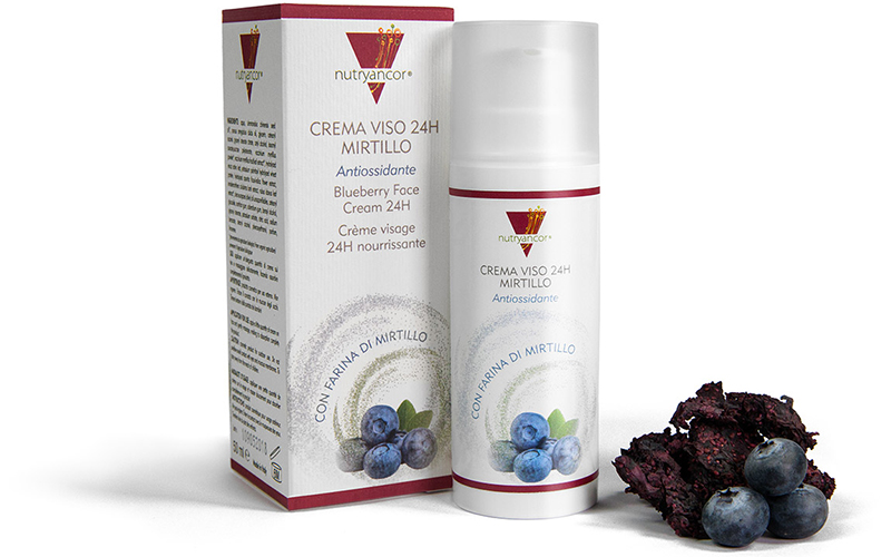 Crema viso 24 h antiossidante