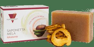 Confezione saponetta con farina di mela